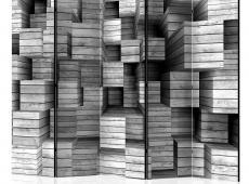 Paraván - Grey Precision II [Room Dividers]